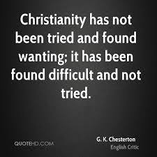 Gk Chesterton Quotes On Christianity Best Of G K Chesterton Quotes QuoteHD