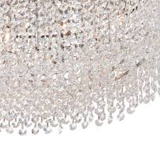 vienna full spectrum adali curve 25 1 2 wide clear crystal pendant chandelier com