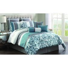 Bedroom Aqua Comforter Set Coral Bedsp Tan Pictures With Stunning ... & ... Comforter Set Includes Bedskirt Shams Picture On Extraordinary Aqua  Bedding Sets Of Aqua Bedding Sets Bedding ... Adamdwight.com