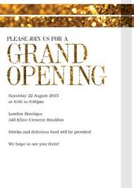 Opening Invitation Card Sample Restaurant Inauguration Invitation Card Google Search