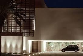 image of modern outdoor lighting wall
