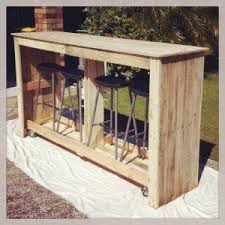 diy patio bar table. Mobile Outdoor Bar From Recycled Pallets Diy Pallet Projects Patio Table A