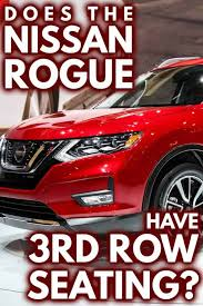 does the nissan rogue have 3rd row seating