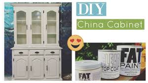 diy china cabinet makeover how to repaint your furniture