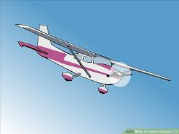 how to land a cessna 172 10 steps (with pictures) wikihow  at Wiring Diagram Taxi Light Cessna 150d