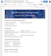 Access Order Form Template Use Case 3 Security Sign And Give Access To A Restricted