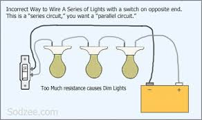 home wiring lights in parallel diagram home image wiring diagram for lights in series the wiring diagram on home wiring lights in parallel diagram