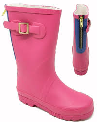 Womens Ladies Junior Sizes Wellies Wellington Boot Outdoor Girls Shoes Size 13 5