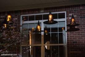 Decorating With Hats Diy Floating Witch Hat Luminaries