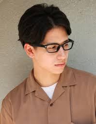 メンズ メガネが似合うビジネス髪型ny 158 ヘアカタログ髪型