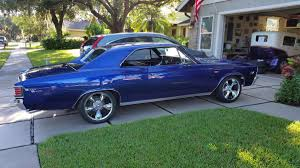 1967 Chevy Chevelle SS with Ridler 695 Package