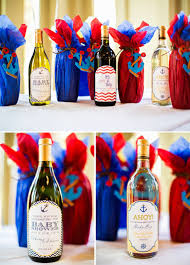 Navy, Yellow and Red Sailor Themed Boys Baby Shower - The ...