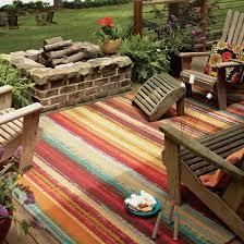 professional waterproof rugs mohawk home avenue stripe indoor outdoor nylon rug multi