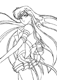 Small Picture Eternal Sailor Pluto Coloring Page by Sailortwilight on DeviantArt