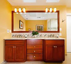 large bathroom mirror on stand