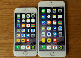 apple iphone 6 plus vs 6. the two handsets present very different real world strengths and weaknesses iphone 6 vs plus - apple iphone r