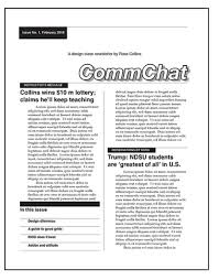Class Newsletter Exercise 3 Newsletter