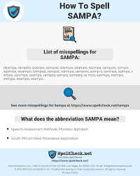Linguistics · semiotics · speech. How To Spell Sampa And How To Misspell It Too Spellcheck Net