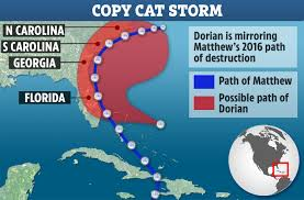Hurricane Dorian To Follow Same Devastating Path As