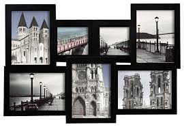 White Modern Picture Frame Wall Collage