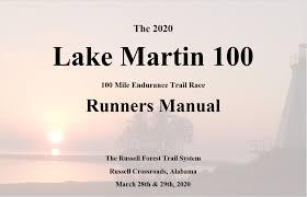 Lake Martin 100 Southeastern Trail Runs