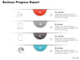 0314 Business Ppt Diagram Business Progress Report