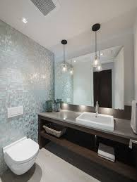 inspiration for a contemporary bathroom remodel in ottawa with a wall mount toilet