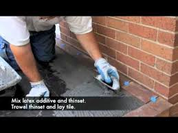 down to earth outdoor tile installation