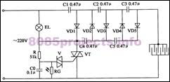electronic circuits 8085 projects  blog archive electric electric insect killer lamp circuit 2