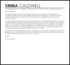 t cover letter sample fashion model cover letter sample cover letter templates examples