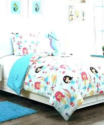 little mermaid comforter set twin pertaining to design
