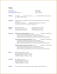 Resume Template Free Contemporary Templates Sample With Regard