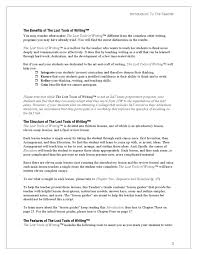 hard work essay hard work essay hard work leads to success essay  lost tools of writing level 1 demo by circe institute page 13 lost tools of writing