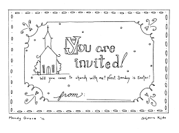 Children S Ministry Easter Coloring Pages Printable Coloring Page