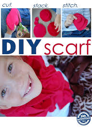 diy fleece scarf easy enough for kids to make