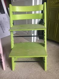 green stokke tripp trapp high chair in oakham rutland gumtree green stokke tripp trapp high chair