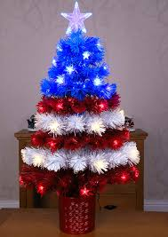 Red White And Blue Christmas Lights