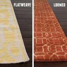 Flat Weave vs Loom