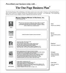 Free Business Plan Templates Word Business Action Plan Template Word One Page Business Plan Format