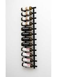 vintage view 4ft wall mount 1 3 bottle depth wine racks