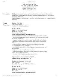 How To Write Federal Resume Federal Resume Example Resume Examples How To Write A Modern Resume 64