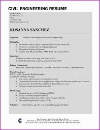 Civil Engineer Resume Sample Resume Fresher Format New Resume Sample For Civil Engineer Fresher 23