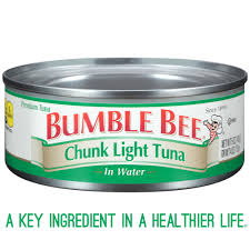 ble bee tuna and seafood s ble bee chunk light tuna in water