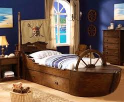 kids bed rooms cool pirate ship beds for amazing nautical regarding bedroom furniture designs 13