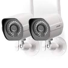 Image Unavailable Amazon.com : Zmodo Wireless Security Camera System (2 Pack), Smart