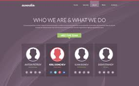one page website template free one page website template psd acrostia creative beacon