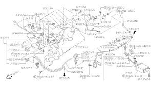 engine control vacuum piping for 2001 nissan pathfinder 2001 nissan pathfinder engine control vacuum piping diagram b 004