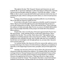 the crucible essay on john proctor co the crucible essay on john proctor