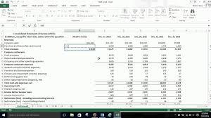 pro forma income statement pro forma income statement