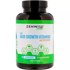 Zenwise Health Nails <b>Daily Hair Growth Vitamins</b> Dht Blocker